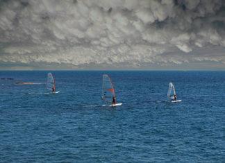 Wiatr i woda - czyli coś dla miłośników sportów wodnych