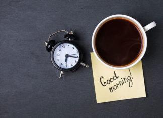 kawa na dobry początek dnia
