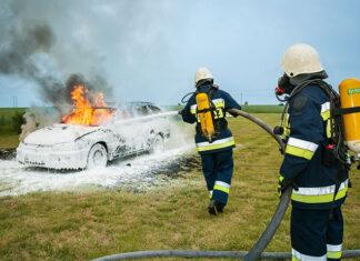 Technologia w pracy strażaka - pomoc w walce o życie