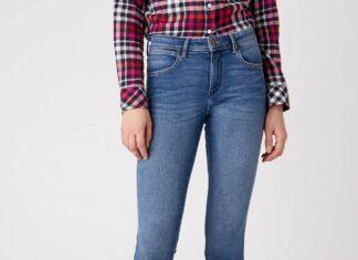 spodnie jeansowe damskie Wrangler
